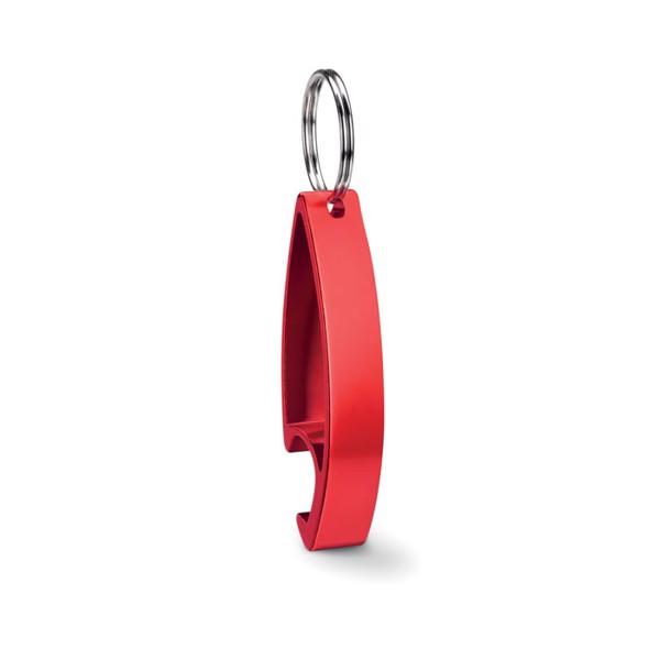 Brelok otwieracz Colour Twices - czerwony
