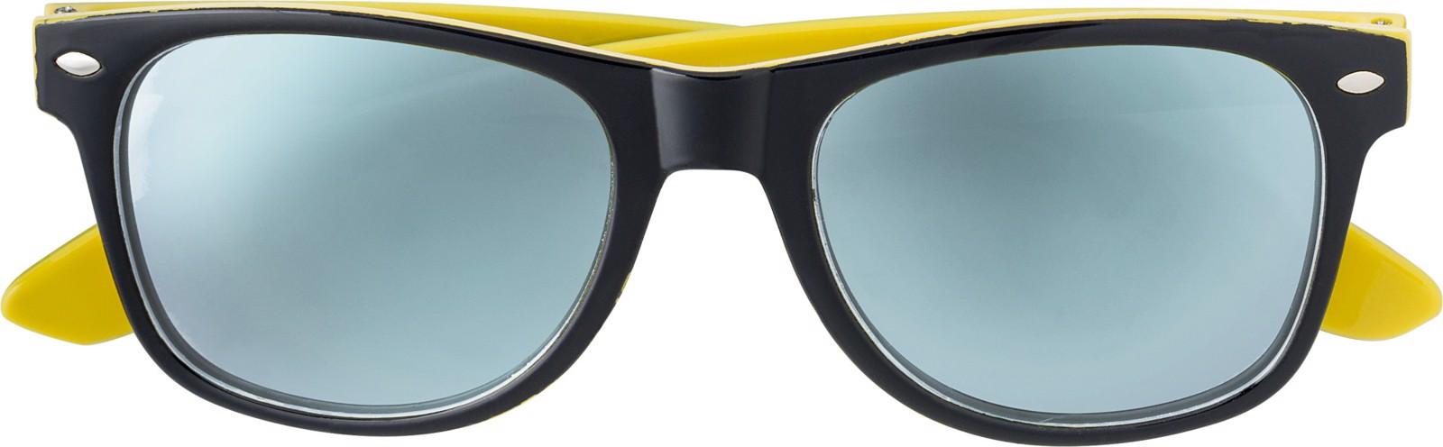 Acrylic sunglasses - Yellow