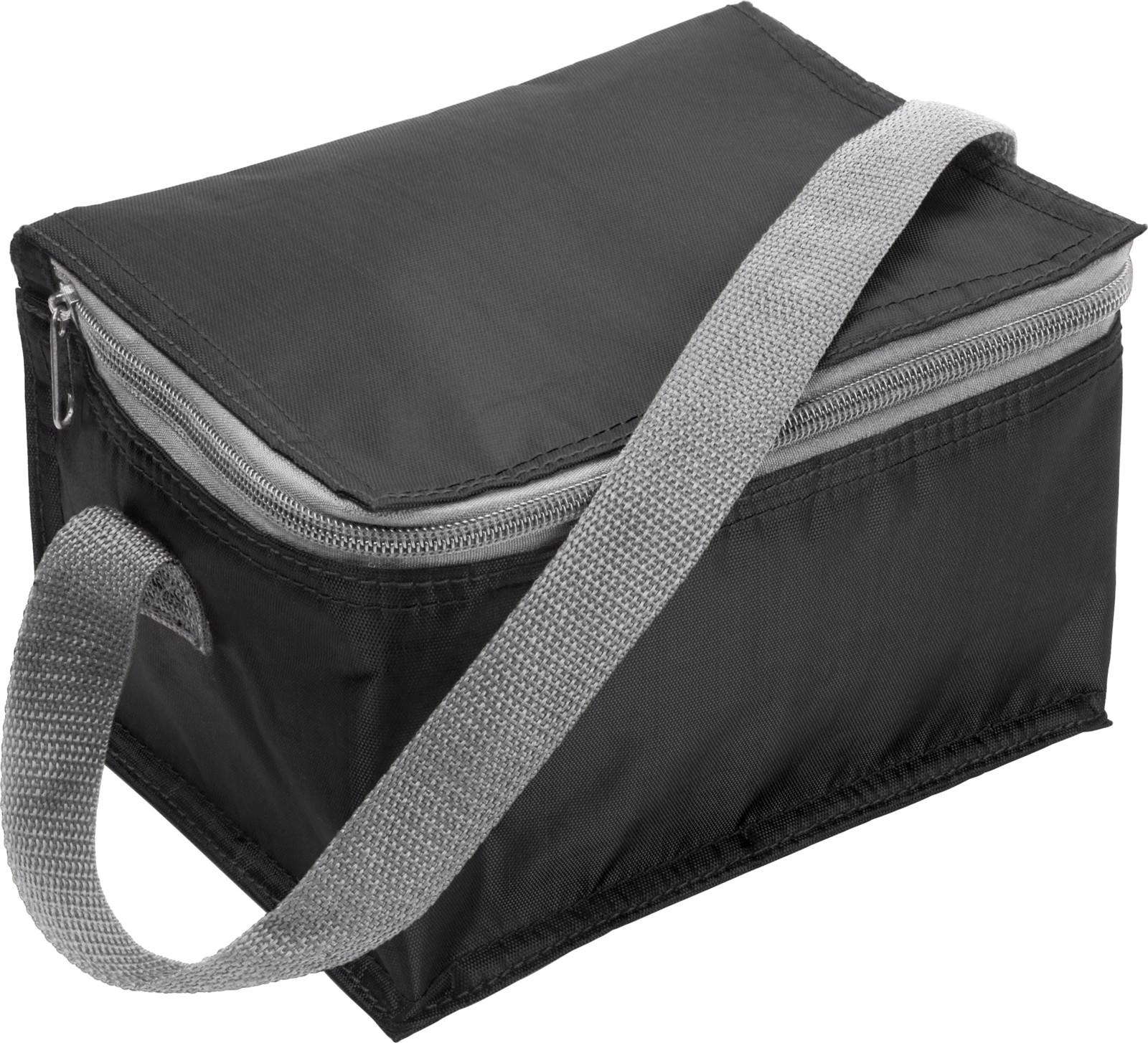 Polyester (420D) cooler bag - Black