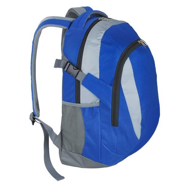 Plecak sportowy Visalis - Niebieski / Szary