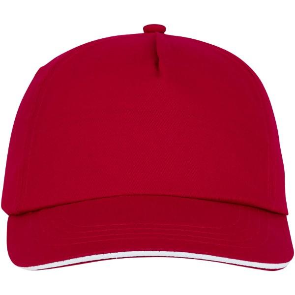 Styx 5 panel sandwich cap - Red