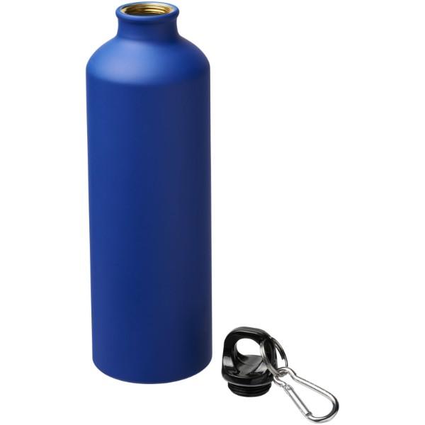 Matowy bidon Pacific 770 ml z karabińczykiem - Niebieski