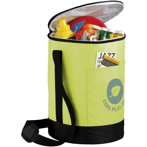Bucco Barrel Kühltasche - limone / schwarz