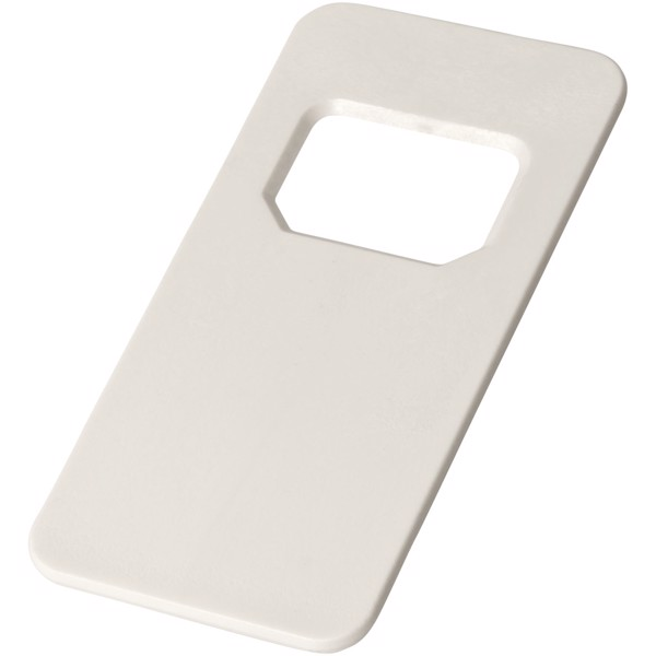 Ojal rectangular-shaped bottle opener