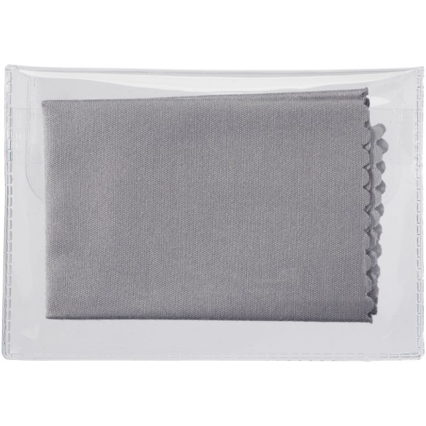 Cleens microfibre screen cleaning cloth - Grey