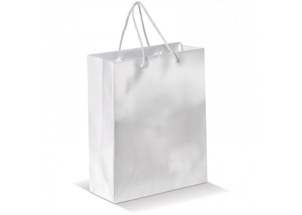 Paper bag medium - White