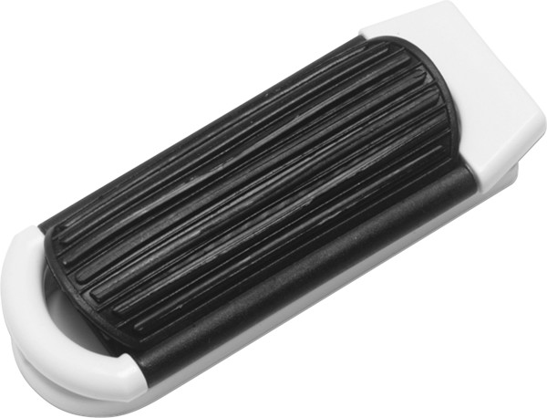 ABS hair brush with mirror