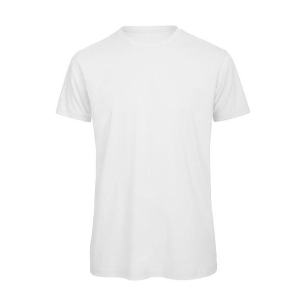 Męski T-shirt 140 g/m2 - Biały / XXL