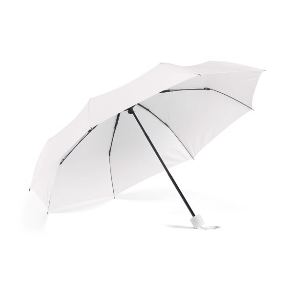 MARIA. Compact umbrella - White
