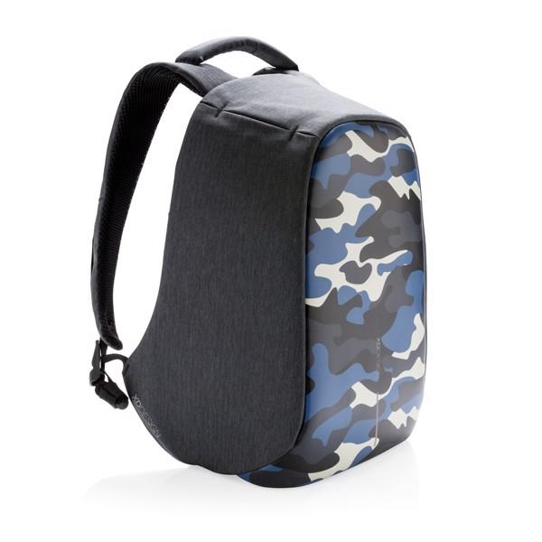 Nedobytný batoh Bobby Compact Print - Modrá / Světle Modrá