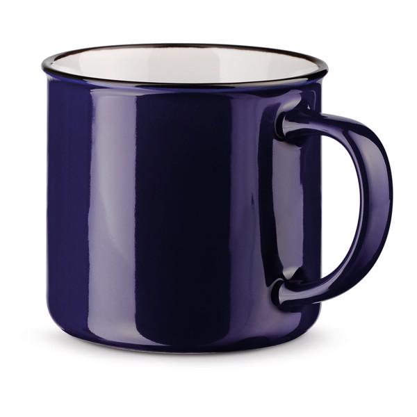 VERNON. Ceramic mug 360 ml - Navy Blue