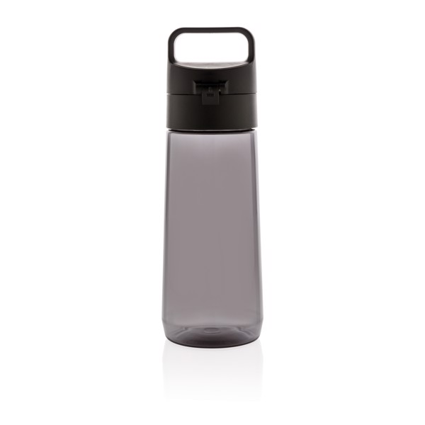 Hydrate szivárgásmentesen zárható tritán palack - Fekete / Kőszén