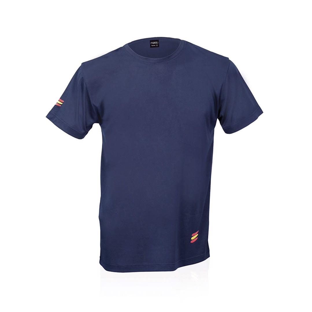 Camiseta Adulto Tecnic Bandera - Marino / S