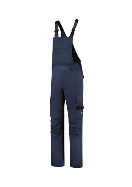 Pracovní kalhoty s laclem unisex Tricorp Bib & Brace Twill Cordura - Námořní Modrá / 48