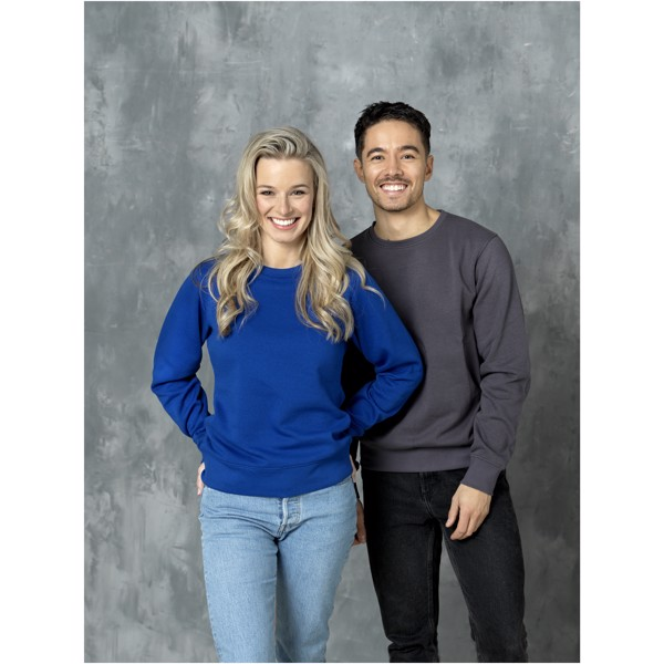 Zenon women's crewneck sweater - White / XL