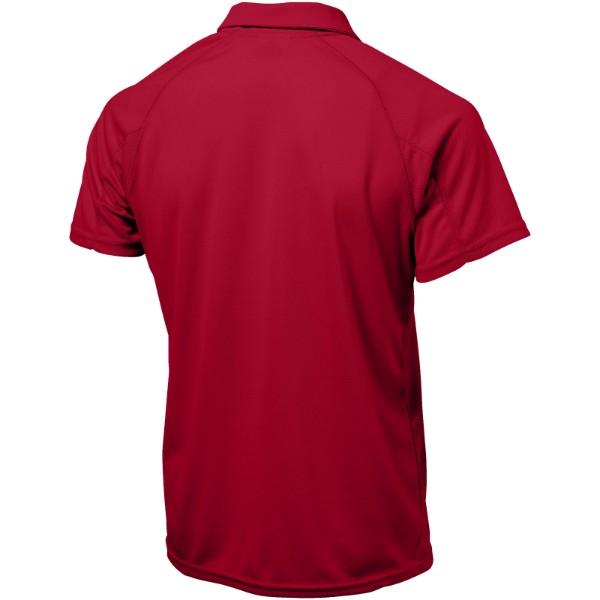 Pánská sportovní polokošile Game - Červená s efektem námrazy / 3XL