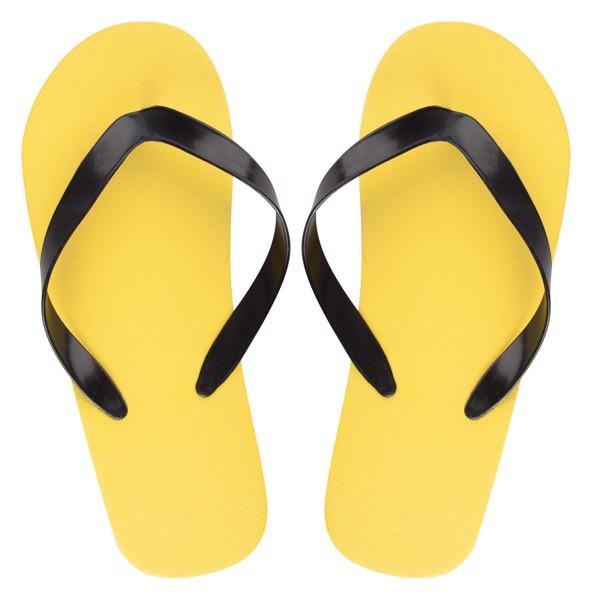 Plážové Žabky Na Zakázku - Pásek CreaSlip - Žlutá / B