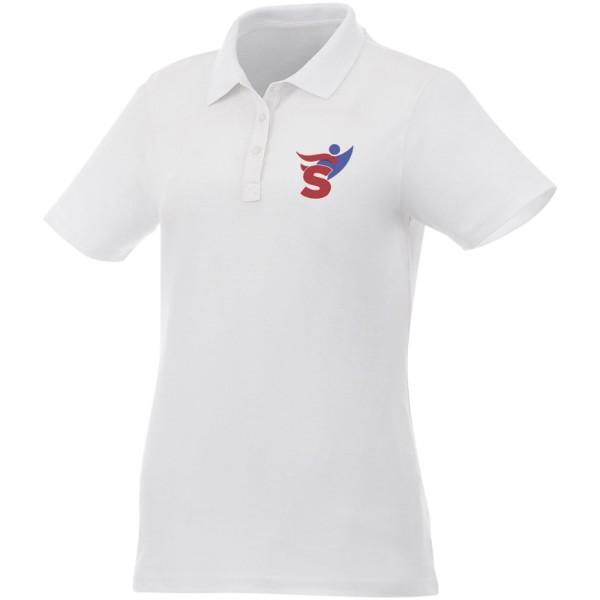 Liberty short sleeve women's polo - White / XS