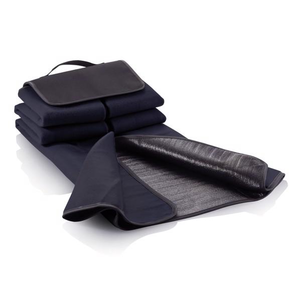 Pikniková deka - Námořní Modř