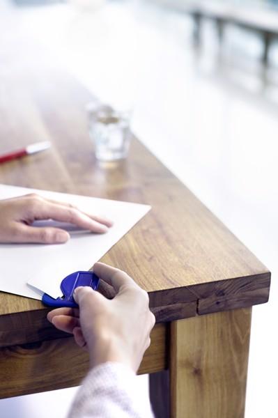 PS letter opener - White