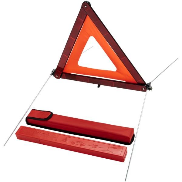 """Triángulo de seguridad con bolsa de almacenamiento """"Carl"""""""