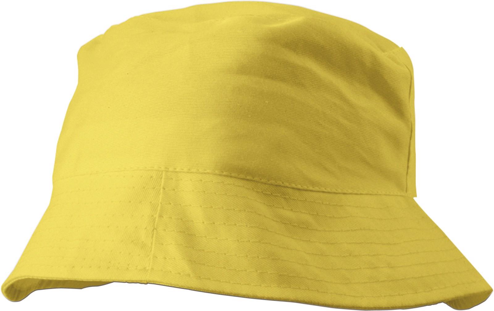 Cotton sun hat - Yellow