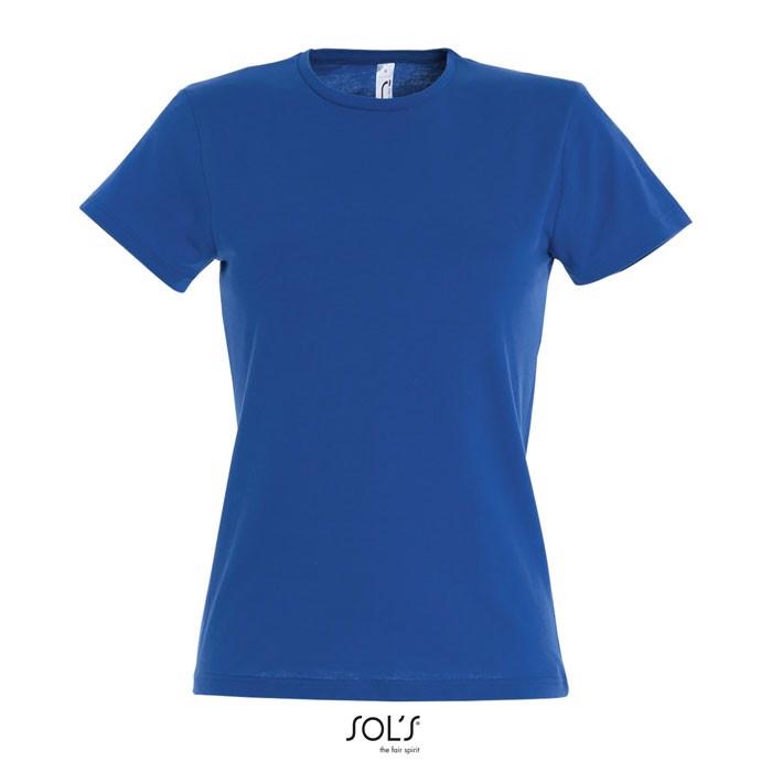 MISS CAMISETA MUJER 150g - Azul Royal / M