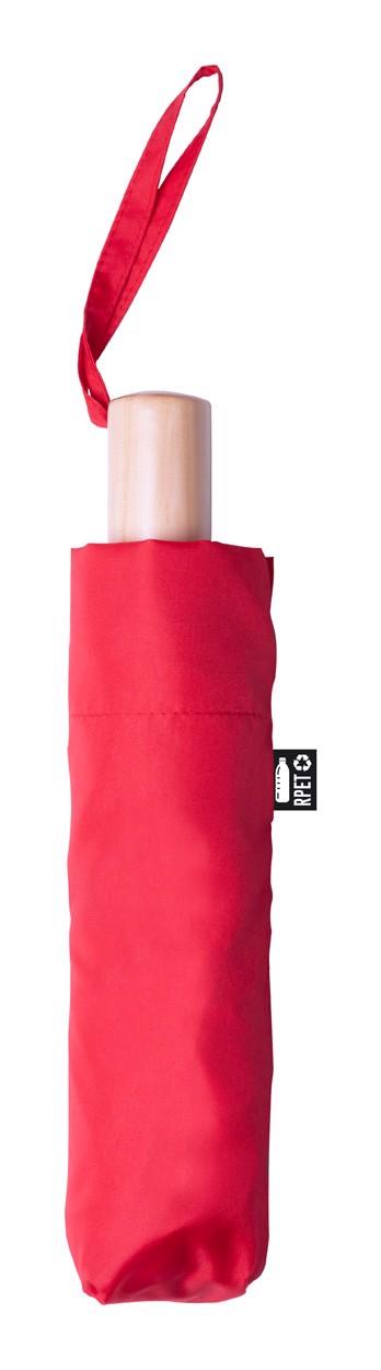 Rpet Deštník Brosian - Červená / Přírodní