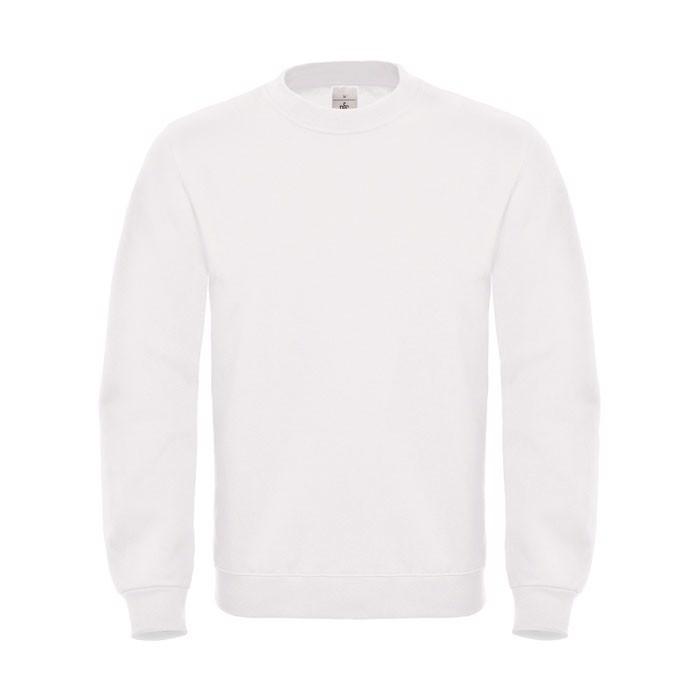 Cotton Rich Sweatshirt Id.002 Cotton Rich Sweatshirt - White / XS