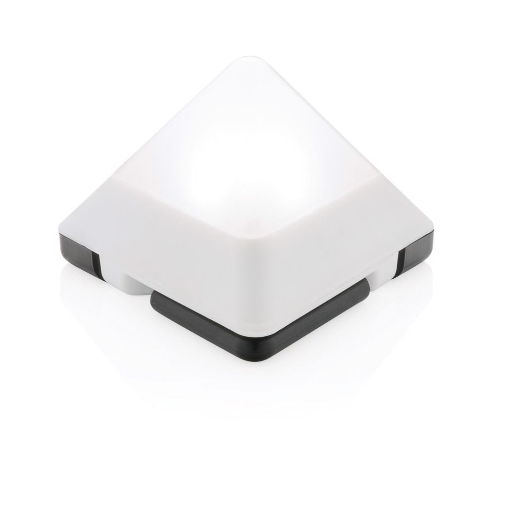 Háromszög alakú mini lámpa - Fehér
