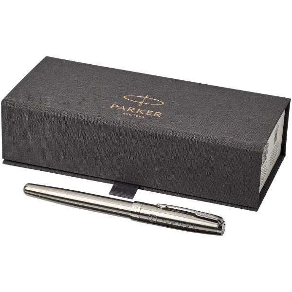 Kuličkové roller pero Sonnet - Nerezová ocel