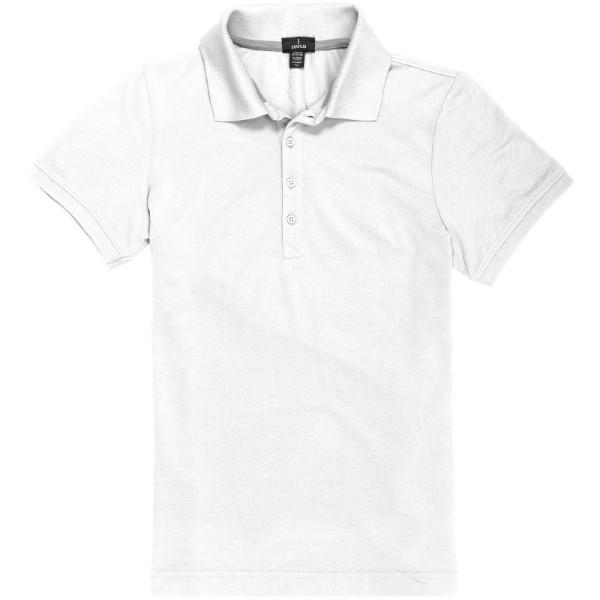 Crandall short sleeve women's polo - White / S