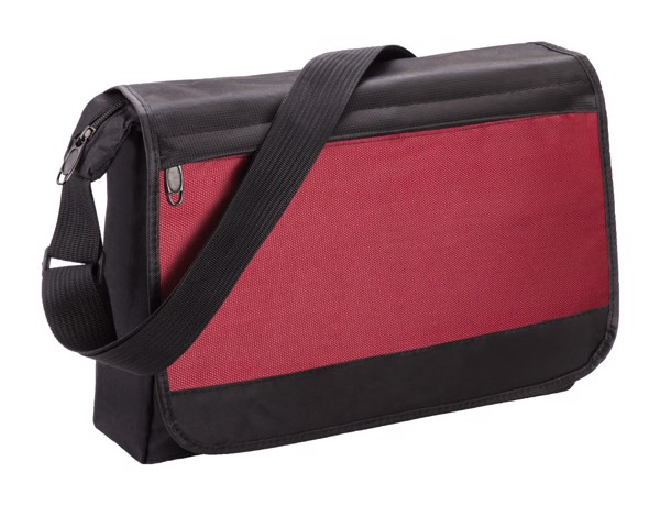 Shoulder Bag Zukar - Black / Red