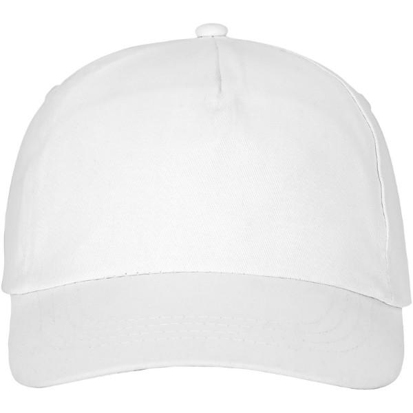 Feniks 5 panel cap - White