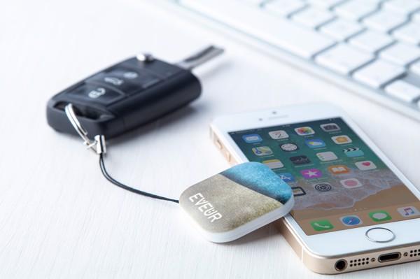 Bluetooth iskalec ključev ColoTrack - bel