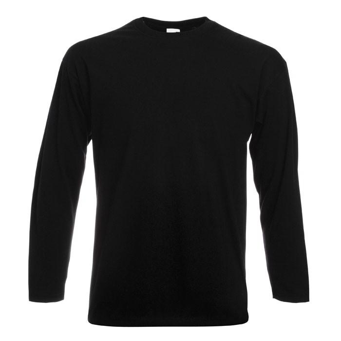 T-shirt 165 g/m² - Black/Black Opal / 5XL