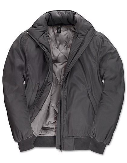 Jacket Crew Bomber /Women - Dark Grey / Warm Grey / XS