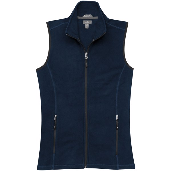 Tyndall micro fleece ladies Bodywarmer - Navy / XS