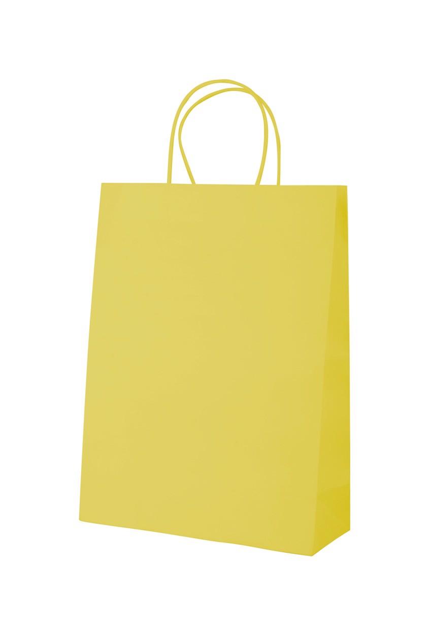 Papírová Taška Mall - Žlutá