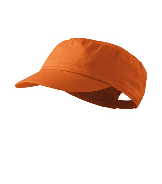 Cap unisex Malfini Latino - Amberglow / adjustable