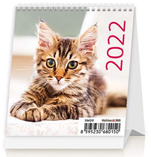 Měsíční kalendář Mini Kittens 2022