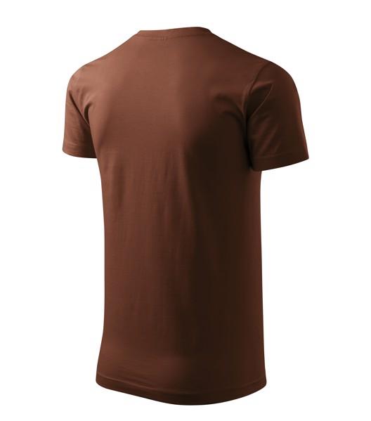 Tričko pánské Malfini Basic - Čokoládová / L