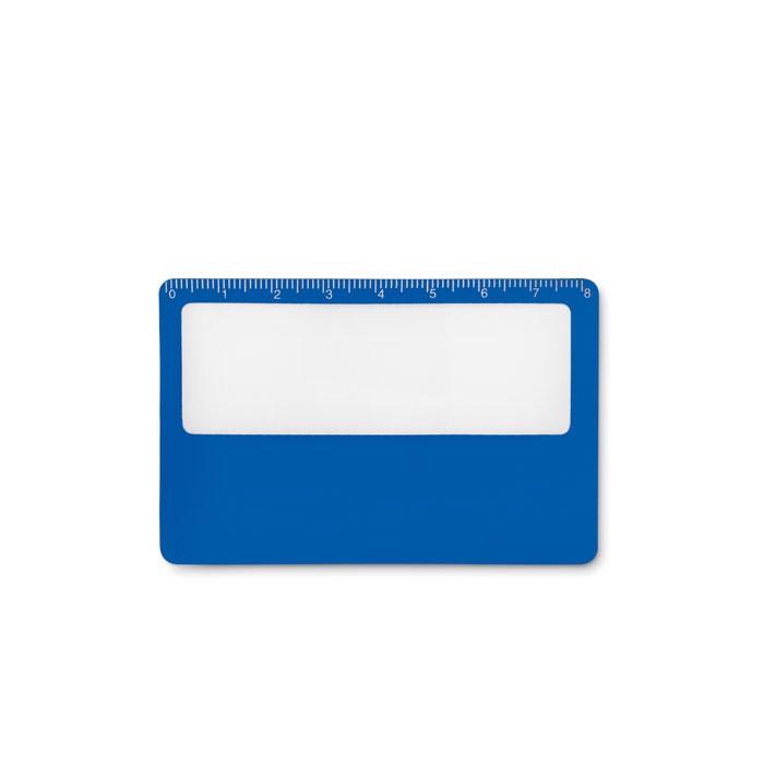 Credit card magnifier Lupa - Royal Blue