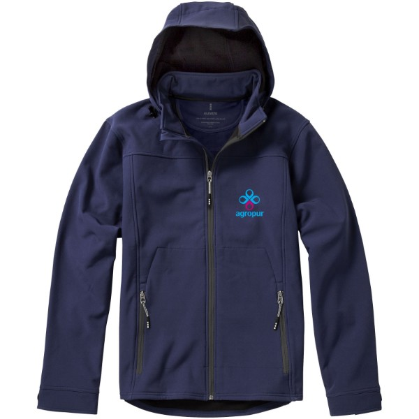 Softshellová bunda Langley - Navy / L