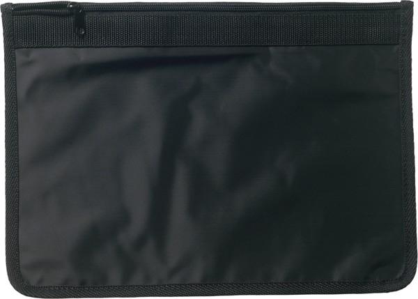 Nylon (70D) document bag - Black