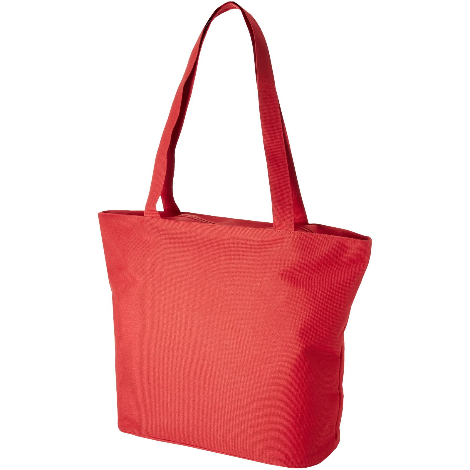 Panama zippered tote bag - Red