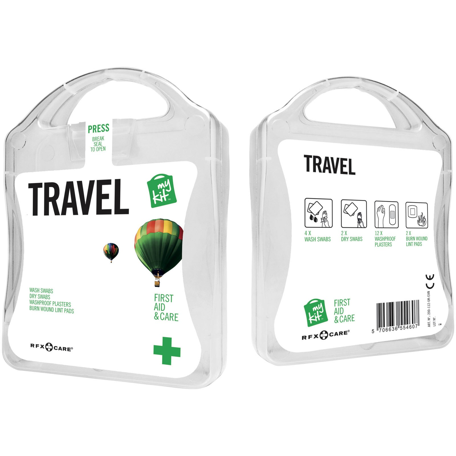 MyKit Travel First Aid Kit - White