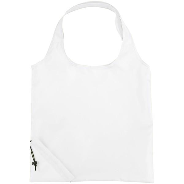 Bungalow faltbare Polyester Tragetasche - Weiss