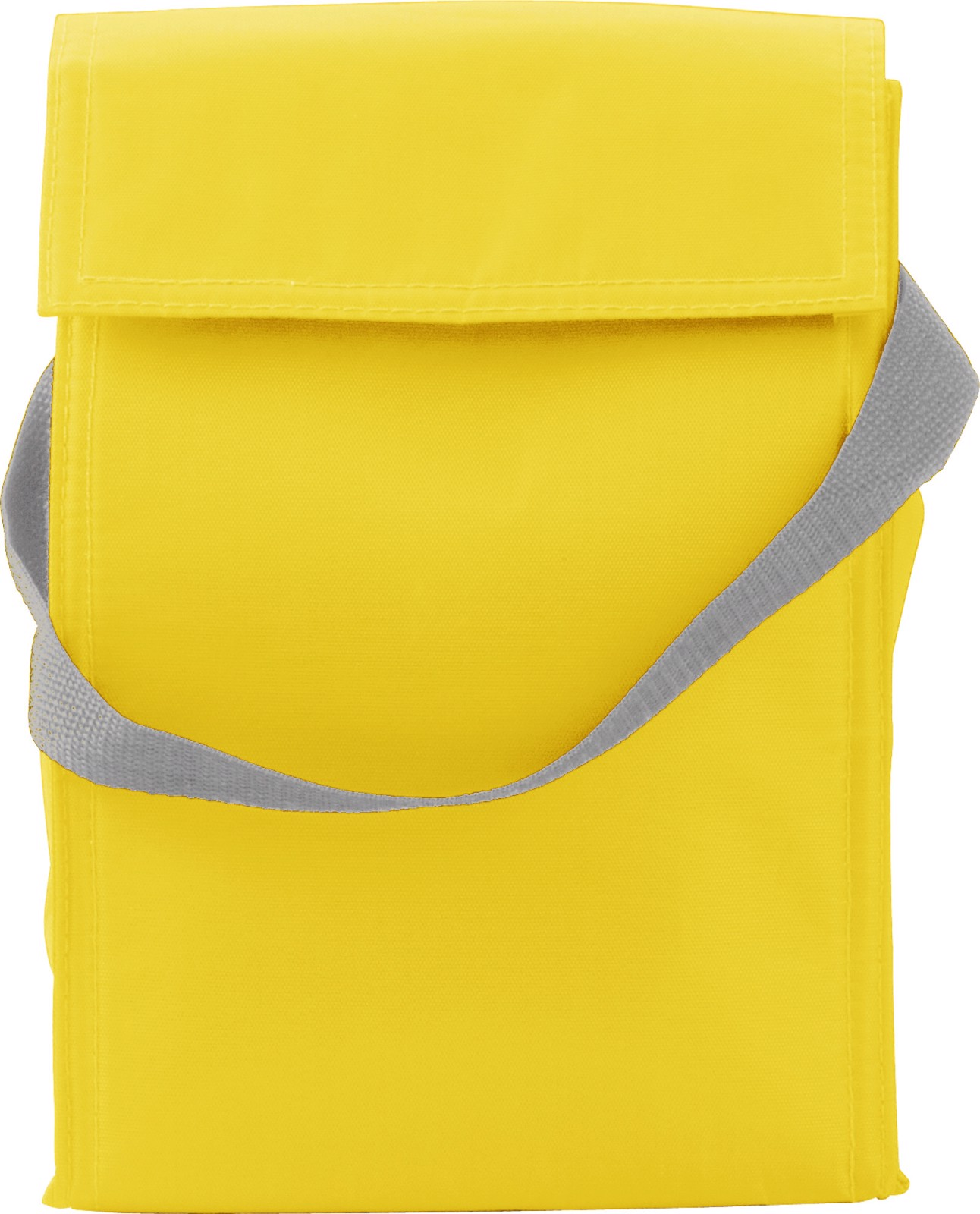 Polyester  (420D) cooler/lunch bag - Yellow