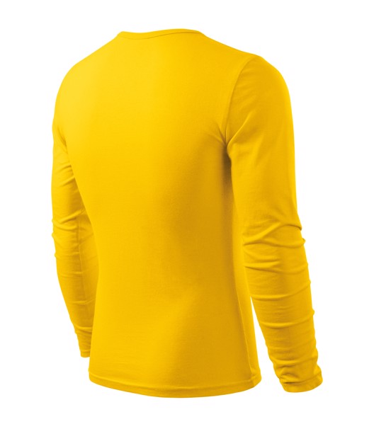 T-shirt men's Malfini Fit-T LS - Yellow / M